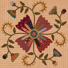How to appliqué quilts just like Kim Diehl (+ fabric giveaway ... & Bittersweet Briar quilt from Simple Graces Adamdwight.com