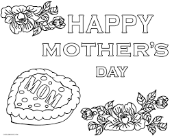 Get the printable at october ink. Free Printable Mothers Day Coloring Pages For Kids