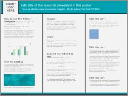 powerpoint brochure template free powerpoint poster template 90 x 120 best of poster template free