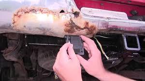 installation of a trailer wiring harness adapter on a 2001 dodge ram pickup etrailer com