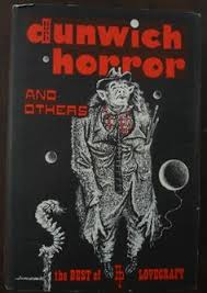 what a beautiful process book bind see more the dunwich horror by h p lovecraft published by arkham house in 1963 cover art