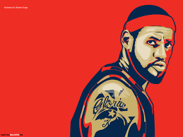 lebron james i m coming home wallpaper. Modren Lebron Lebron James Illustration Red Wallpaper 15 In I M Coming Home P