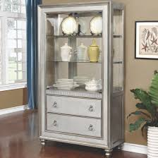 cabinets with drawers and shelves. curio cabinet with 3 shelves and 2 drawers cabinets