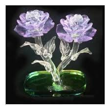crystal flowers gift