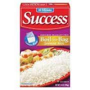 bag of jasmine rice. Photo Of Success Jasmine Rice Thai Fragrant BoilinBag In Bag