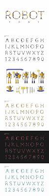 25+ unique Robot font ideas on Pinterest | Serif, Nature font and ...