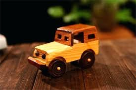 wooden model car jeep shaped cars wood toy and trucks plans