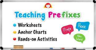 Teaching Prefixes Worksheets Anchor Charts And Hands On