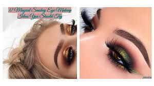 eye makeup is just one of the greatest strategies to improve your features by making them pop there are many tutorials on the internet to help you