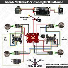 drone and fpv wiring diagram home wiring diagrams alien 5 mr steele fpv quadcopter build guide thinkfpv jeep wiring diagram drone and fpv wiring diagram