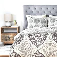 deny designs duvet cover reviews belle13 curly rhombus neutral duvet cover by deny designs 60174 dlikin