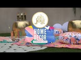 oh joy for target home decor collection summer 2017 youtube