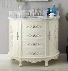 42 Benton Collection Verondia Vintage Style Vanilla Beige Bathroom Va Chans Furniture