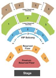 Club Nokia Seating Chart Park Theater Seat Online Charts Collection