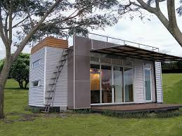 Houses Made Out Of Shipping Containers With Sliding Glass Door
