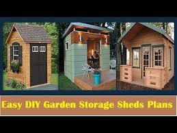 easy diy garden storage shed plans for your outdoor shed for woodworking projects