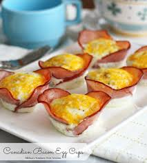 Canadian Bacon Egg Cups - melissassouthernstylekitchen.com
