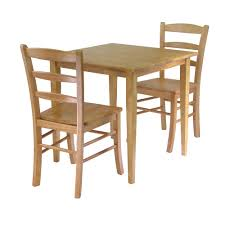 small square kitchen table:  winsome  groveland  pc dining table with  chairs in lightoak goingdecor