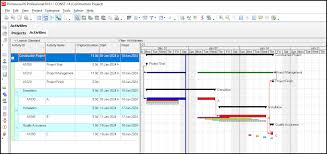 How To Display Four Baselines On The Gantt Chart In Primavera P6