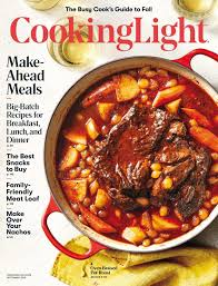 Cooking Light Online Recipes Cooking Light Magazine September 2018 Free Library