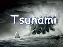 tsunami a natural disaster