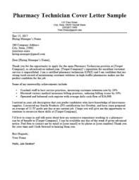 Pharmacy Cover Letter Examples 45 Free Cover Letter Examples By Industry Resume Companion