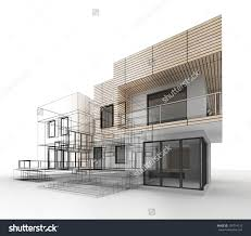 architectural house drawing. Contemporary House Architecture Design House Drawing  Throughout Architectural