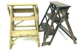 3 step wooden ladder small step ladder decorative stepladder 3 woodcraft recycle wood ladders indoor wooden 3 step wooden ladder