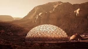 Marte: el diseño catalán de una ciudad encandila a la Mars Society