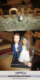 Custom Figurines From Your Photos Wedding Cake Toppers Funny