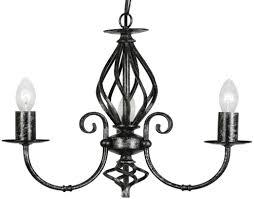 tuscany lighting. oaks lighting u0027tuscanyu0027 3 light ceiling black silver 33803 tuscany a