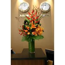Office flower arrangements Hotel Reception Desk Corporate Flowers Pinterest Reception Desk Corporate Flowers 花艺 Pinterest Corporate