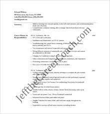 ... Amazing Hvac Technician Resume 11 HVAC Resume Template 10 Free Word  Excel PDF Format Download ...