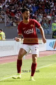 Roma - Milan, Spinazzola a fine primo tempo – DIESROMAE