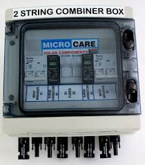 combiner box 2 string microcare solar components combiner box 2 string