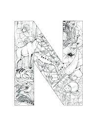 letter n coloring pages sheets sheet for kindergarten