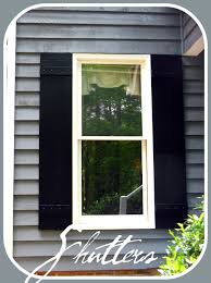 Tricorn Black Sherwin Williams Curb Appeal Painting And Shutters Check Lettres De Mon Moulin