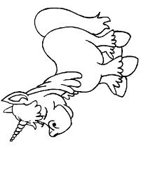 Kids N Funcom Coloring Page Eenhoorn Eenhoorn