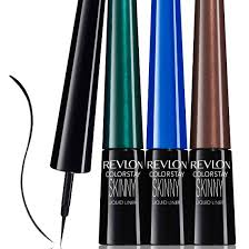 liquid eyeliner brush. revlon colorstay skinny liquid liner review eyeliner brush