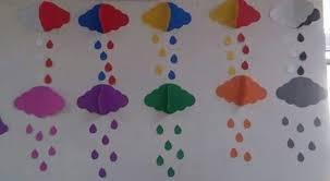 Handmade Wall Decoration For Preschool Classroom