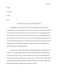 how to write papers about letter from birmingham jail essay questions these papers were written primarily by students and provide critical analysis of letter from birmingham jail by martin luther king