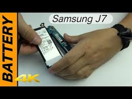 <b>Samsung</b> J7 <b>Battery</b> replacement - YouTube