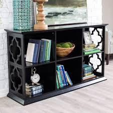 Bookcase Table Belham Living Renata 6 Cube Quatrefoil Bookcase Hayneedle