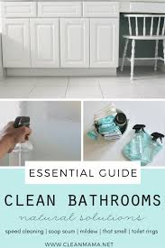 Best Way To Clean Bathroom Cool Inspiration Ideas