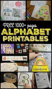 Free Alphabet Printables 123 Homeschool 4 Me