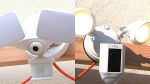 Ring Flood Light With Camera Ring Floodlight Cam Vs Maximus Camera Floodlight Techhive