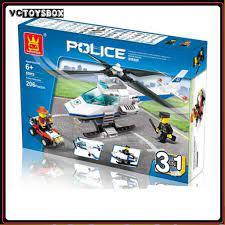 RẺ VÔ ĐỐI ] ĐỒ CHƠI TRẺ EM- Xếp hình Lego Máy bay trực thăng (3 in 1)