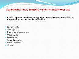 shopping list by department department stores shopping centers amp superstores list
