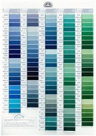 Dmc Colour Chart Download Pin On Farb Carte
