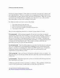 Free Cover Letter Templates Thank You Letter After Interview
